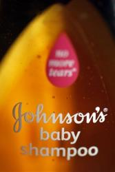 This file photo taken April 19, 2010 shows Johnson's No More Tears, baby shampoo in Philadelphia.