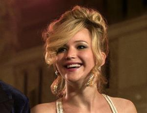 This film image released by Sony Pictures shows Jennifer Lawrence in a scene from American Hustle.