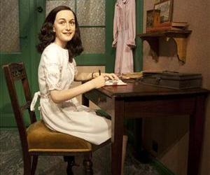 A wax figure of Anne Frank is on display at Madame Tussauds Wax Museum in Berlin Friday, March 9, 2012.