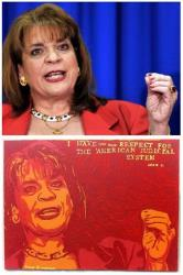 The original AP photo, along with Zimmerman's version.