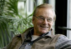 n this Oct. 30, 2007 file photo, Tom Perkins smiles during an interview in San Francisco.