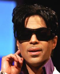 Pop superstar Prince speaks during a press conference in London, in this May 8, 2007 file photo.