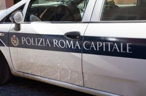 File photo of a police car in Italy.