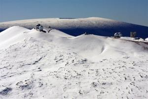 With two snow-capped volcanoes, Hawaii gets more snowstorms than you might expect.