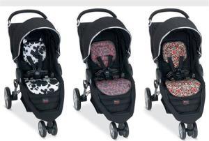 BRITAX B-AGILE strollers