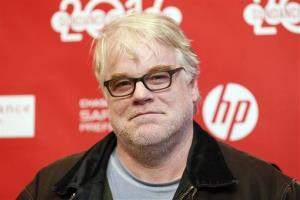 In this Sunday, Jan. 19, 2014 file photo, cast member Philip Seymour Hoffman poses at the premiere of the film A Most Wanted Man during the 2014 Sundance Film Festival.