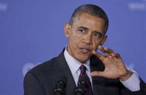President Barack Obama speaks at Buck Lodge Middle School in Adelphi, Md., Tuesday, Feb. 4, 2014.