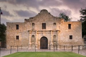 The Alamo, in San Antonio.