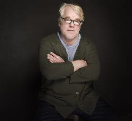 Philip Seymour Hoffman poses for a portrait on Jan. 19, 2014.