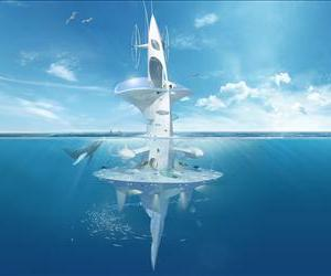 Concept art for the vessel.