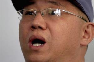 American missionary Kenneth Bae speaks to reporters on Jan. 20.