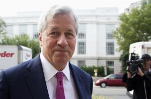In this Sept. 26, 2013 file photo, JPMorgan Chase Chairman, President and Chief Executive Officer Jamie Dimon arrives at the Department of Justice in Washington.