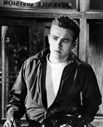 In this 1955 file photo, James Dean is shown as Jim Stark in a scene from Rebel Without A Cause.