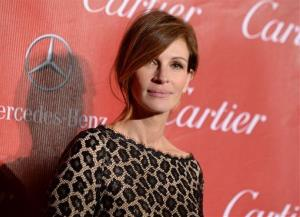 This Jan. 4, 2014 file photo shows Julia Roberts at the Palm Springs International Film Festival Awards Gala in Palm Springs, Calif.