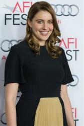 Actress Greta Gerwig arrives at the 2013 AFI Fest 'Los Angeles Time Young Hollywood Roundtable' at the TCL Chinese Theatre on Friday, Nov. 8, 2013 in Los Angeles.