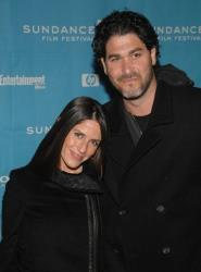 Actress Soleil Moon Frye and producer Jason Goldberg attend the premiere of Spread during the Sundance Film Festival in Park City, Utah on Saturday, Jan. 17, 2009.