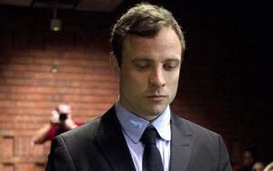 In this file photo taken on Monday, Aug, 19, 2013, Oscar Pistorius, the celebrated athlete who became a murder suspect.