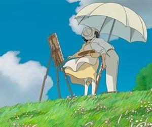 This image released by Touchstone Pictures shows a scene from the animated film, The Wind Rises.