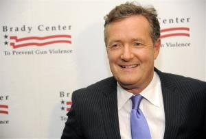 Honoree Piers Morgan poses at the Brady Campaign to Prevent Gun Violence Los Angeles Gala last year.
