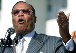 Louis Farrakhan speaks at the state capitol steps in Montgomery, Ala. on Friday June 14, 2013.