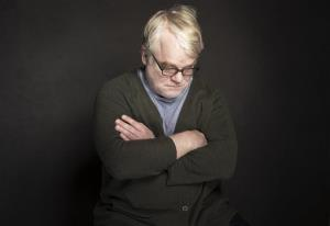 CORRECTS SPELLING OF FIRST NAME TO PHILIP INSTEAD OF PHILLIP - In this Jan. 19, 2014 photo, Philip Seymour Hoffman poses for a portrait at The Collective and Gibson Lounge Powered by CEG, during the Sundance Film Festival, in Park City, Utah. Hoffman, who won the Oscar for best actor...