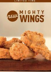 McDonald's Mighty Wings.