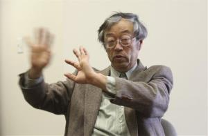 Dorian S. Nakamoto is shown during an interview with the Associated Press in Los Angeles yesterday.