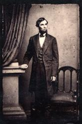 Abraham Lincoln portrait, 1863.