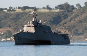 File photo of the USS Coronado.