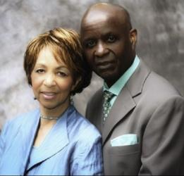 Bishop Bobby Davis, seen here with his wife Christine, founded the church in 1967.