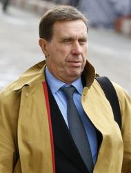 Former News of The World royal editor Clive Goodman arrives at The Old Bailey law court in London.