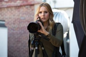 This image released by Warner Bros. Pictures shows Kristen Bell in a scene from Veronica Mars.