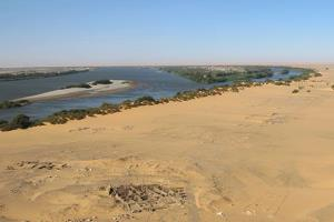 The body was found in a tomb at the Amara West site in the far north of Sudan.