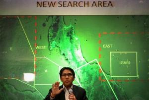 Malaysia's Department of Civil Aviation's Director General Azharuddin Abdul Rahman briefs reporters on search and recovery efforts within existing and new areas for missing Malaysia Airlines plane during a press conference, Monday, March 10, 2014 in Sepang, Malaysia. The search operation for the missing Flight MH370 which has involved 34...