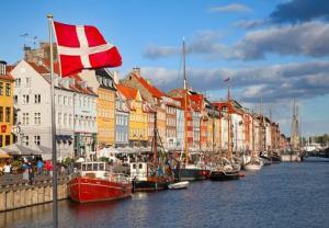 A view of Copenhagen.