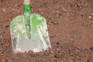 Investigators found bone fragments after digging under a Santa Fe garage.