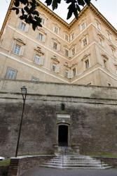A picture taken Tuesday, Jan. 28, 2014 showing an exterior view of the offices of the Vatican bank IOR.