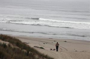 File photo of a Santa Barbara beach.
