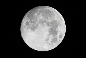 The moon is made up of parts of the asteroid and early Earth.