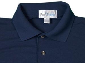PurThread's golf shirt, via its website.