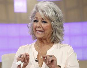 In this publicity image released by NBC, celebrity chef Paula Deen appears on NBC News' Today show, wednesday, June 26, 2013 in New York.