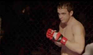 A screen capture from the trailer of Fight Church.