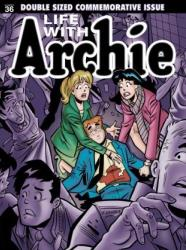 The cover of the 'Life With Archie' comic in which Archie himself dies.