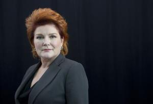 This Oct. 7, 2013 file photo shows American actress Kate Mulgrew from the Netflix original series Orange Is The New Black, in New York.