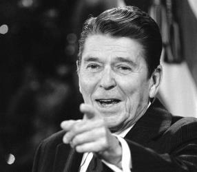 President Reagan in 1981.