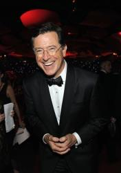 Stephen Colbert replaces David Letterman sometime next year.