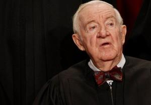 Justice John Paul Stevens in 2009.
