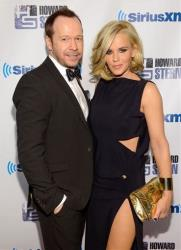 Actor Donnie Wahlberg and girlfriend Jenny McCarthy attend Howard Stern's Birthday Bash, presented by SiriusXM, at the Hammerstein Ballroom on Friday, Jan. 31, 2014, in New York.