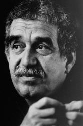 An undated photo of author Gabriel Garcia Marquez .