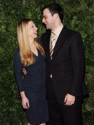 Chelsea Clinton and husband Marc Mezvinsky in 2012.